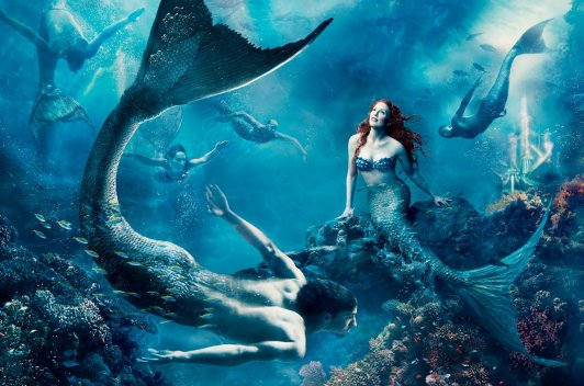 Julianne Moore assume lugar de A Pequena Sereia.